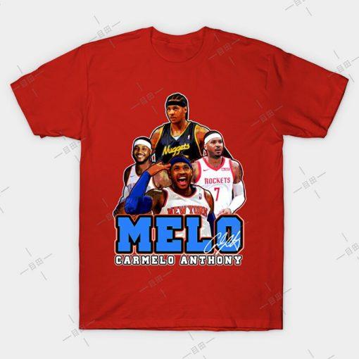 MELO T shirt Carmelo Anthony tee nyc knickstape ny newyork basketball knicks new york melo knickerbockers 3