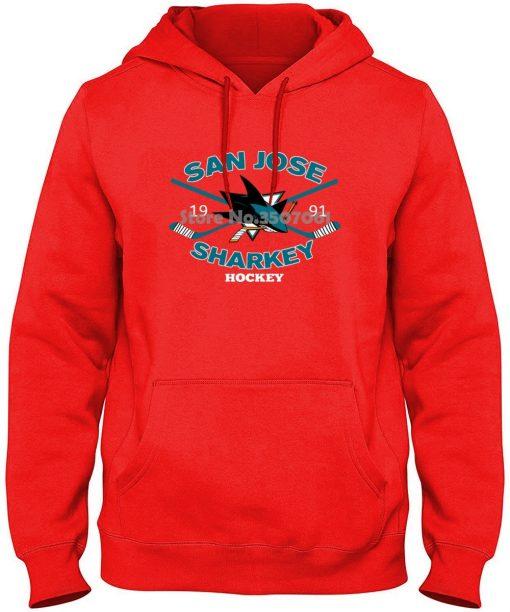 Male Best Selling Kawaii Annabelle San Joses Shark long Sleeve Sportsy Summer winter Black gym jogger