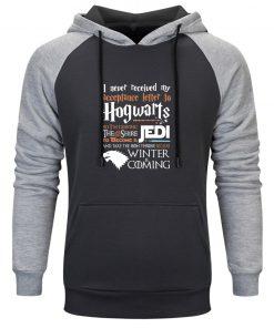 Man Game Of Thrones Warm Hoodies 2020 Winter Autumn Clothing Streetwear Fashion Sweatshirts Men Raglan Sleeve