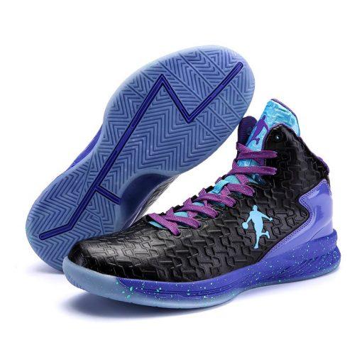 Man High top Jordan Basketball Shoes Men s Cushioning Light Basketball Sneakers Anti skid Breathable Outdoor 2