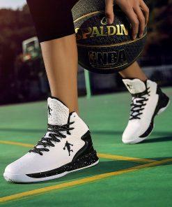 Man High top Jordan Basketball Shoes Men s Cushioning Light Basketball Sneakers Anti skid Breathable Outdoor 4
