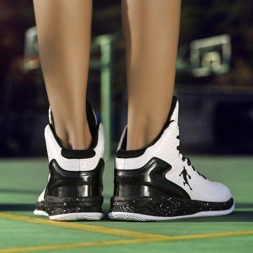 Man High top Jordan Basketball Shoes Men s Cushioning Light Basketball Sneakers Anti skid Breathable Outdoor 5