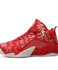 Man High top Jordan Basketball Shoes Men s Cushioning Light Basketball Sneakers Anti skid Breathable Outdoor 6