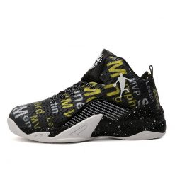 Man High top Jordan Basketball Shoes Men s Cushioning Light Basketball Sneakers Anti skid Breathable Outdoor 7