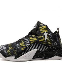 Man High top Jordan Basketball Shoes Men s Cushioning Light Basketball Sneakers Anti skid Breathable Outdoor 7