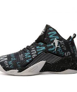 Man High top Jordan Basketball Shoes Men s Cushioning Light Basketball Sneakers Anti skid Breathable Outdoor 8