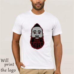 ManrvWtop Fear The Beard Harden Houston Rockets 13 T shirt