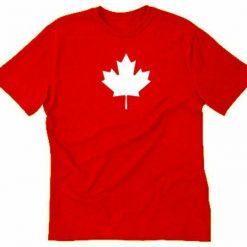Maple Leaf T shirt Funny Canada Canadian Toronto Flag Eh Tee Shirt Canada Day