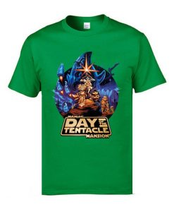 Marval Comic Anime T Shirts Day of the Tentacle Star Wars Mashup Magic Tshirts 3D Print 2