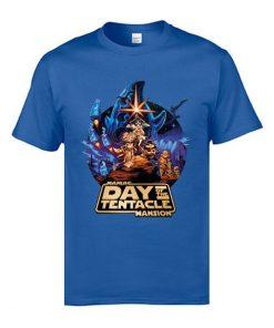 Marval Comic Anime T Shirts Day of the Tentacle Star Wars Mashup Magic Tshirts 3D Print 3