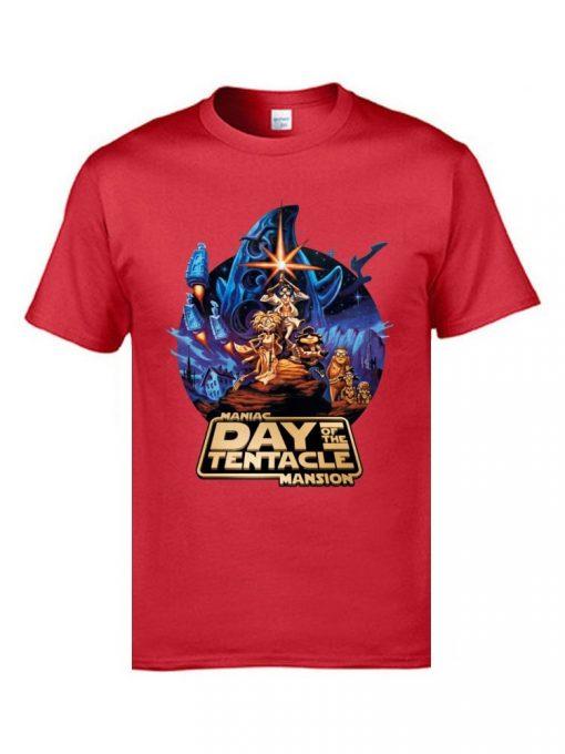Marval Comic Anime T Shirts Day of the Tentacle Star Wars Mashup Magic Tshirts 3D Print 4