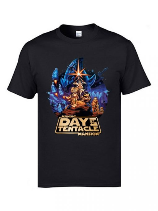 Marval Comic Anime T Shirts Day of the Tentacle Star Wars Mashup Magic Tshirts 3D Print