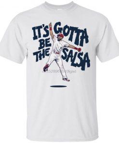 Matt Carpenter Salsa T Shirt Baseball St Louis Cardinal Mens Tee Shirt S 5Xl