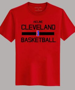 Men 2016 Training Wear T shirt Basketball cleveland Uniforms Loose shirt K1237 2