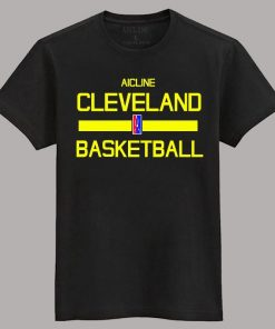 Men 2016 Training Wear T shirt Basketball cleveland Uniforms Loose shirt K1237