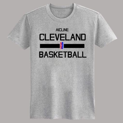 Men 2016 Training Wear T shirt Basketball cleveland Uniforms Loose shirt K1237 3