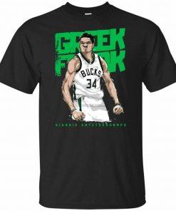 Men 39S Short Sleeve Giannis Antetokounmpo T Shirt S 2Xl Summer Style Casual Wear Tee Shirt