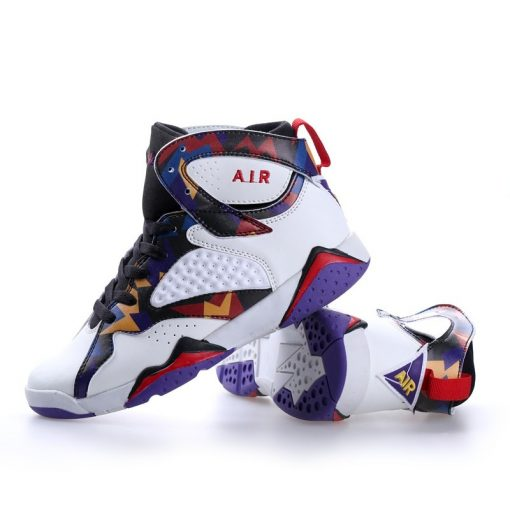 Men Air Cushion Jordan Retro Basketball Shoes High top Basketball Sneakers Couple Boots Outdoor Men New 1
