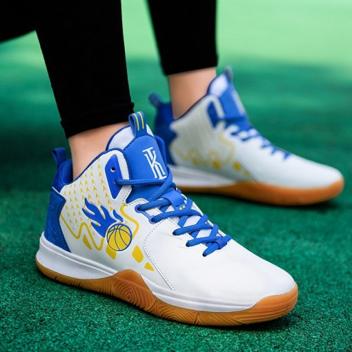 Men Basketball Shoes Comfortable High Top Gym Training Boots Outdoor Jordan Sneakers Male Athletic Sport Shoes 2