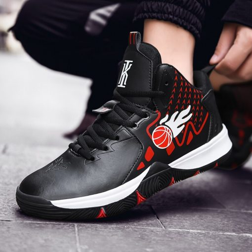 Men Basketball Shoes Comfortable High Top Gym Training Boots Outdoor Jordan Sneakers Male Athletic Sport Shoes 3