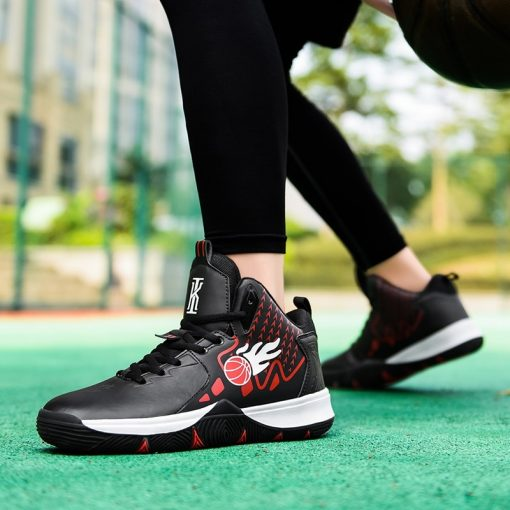 Men Basketball Shoes Comfortable High Top Gym Training Boots Outdoor Jordan Sneakers Male Athletic Sport Shoes 4