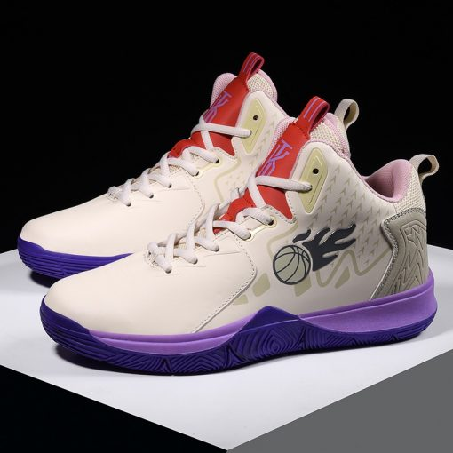 Men Basketball Shoes Comfortable High Top Gym Training Boots Outdoor Jordan Sneakers Male Athletic Sport Shoes 5