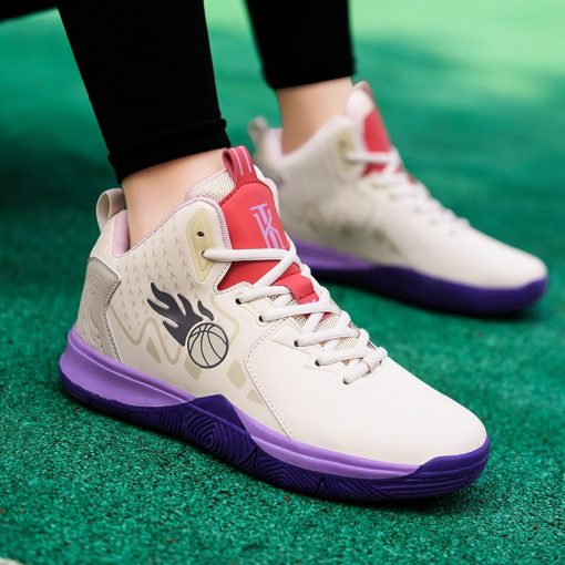 Men Basketball Shoes Comfortable High Top Gym Training Boots Outdoor Jordan Sneakers Male Athletic Sport Shoes