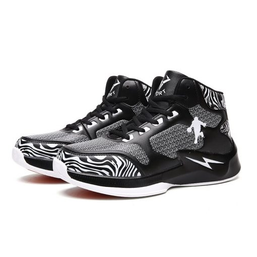 Men Basketball Shoes High Top Comfortable LitheTraining Boots Ankle Boots Outdoor Men Sneakers Athletic Sport Shoes 2