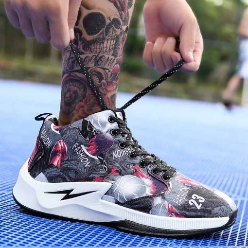 Men Basketball Shoes Male Street Basketball Culture Sports Shoes Women High Quality Sneakers Shoes for Men 3