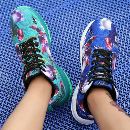 Men Basketball Shoes Male Street Basketball Culture Sports Shoes Women High Quality Sneakers Shoes for Men 4