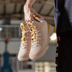 Men Basketball Shoes Sneakers LBJ Basket Trainers Male Ankle Shockproof Couple Elastic Basketball Shoes Zapatillas De 2