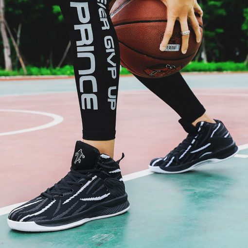 Men Basketball Shoes Sport 2020 Training Sneakers High Quality Jordan Basketball Boots Outdoor Boy Man Breathable 1