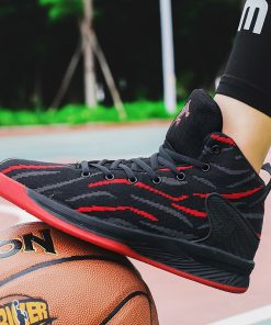 Men Basketball Shoes Sport 2020 Training Sneakers High Quality Jordan Basketball Boots Outdoor Boy Man Breathable 2
