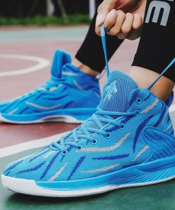 Men Basketball Shoes Sport 2020 Training Sneakers High Quality Jordan Basketball Boots Outdoor Boy Man Breathable