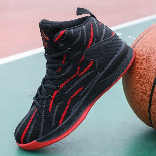 Men Basketball Shoes Sport 2020 Training Sneakers High Quality Jordan Basketball Boots Outdoor Boy Man Breathable 4