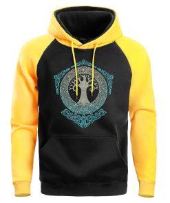 Men Game Of Thrones Sweatshirt Crewneck Hoodies Male Sweatshirts Mens Winter Yggdrasil Tree Of Life Hoodie 2