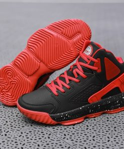 Men High top Jordan Basketball Shoes Man s Cushioning Light Chunky Shoes Breathable Athletic Shoes Outdoor