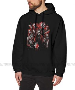 Men Hooded Sweatshirt Jason Voorhees Many Friday The 13th Cotton Winter Leisure Hoodie Faces of Horror 1