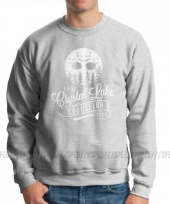 Men Jason Voorhees Camp Crystal Lake Counselor Friday The 13th Horror Hoodies Casual Sweatshirts Cotton Classic 1