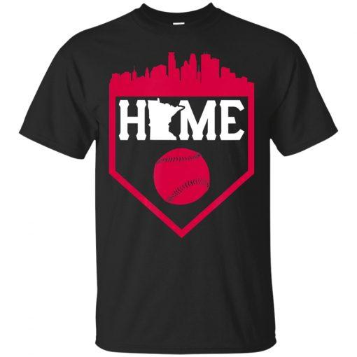 Men S Minnesota Baseball Vintage Home Skyline Twin City T Shirt Size M 3Xl Summer Style