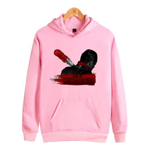 Men Sweatshirt Negan Hooded Men women Print Fear The Winchester Hoodies Sportswear The Walking Dead Casual 1