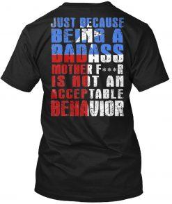 Men T Shirt Badass Motherfr Texan Pride Women T Shirt