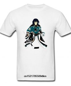 Men T Shirt Fashion Amazing Melfina San Jose Hockey Sharks Tee Shirt Trend Funny T Shirt