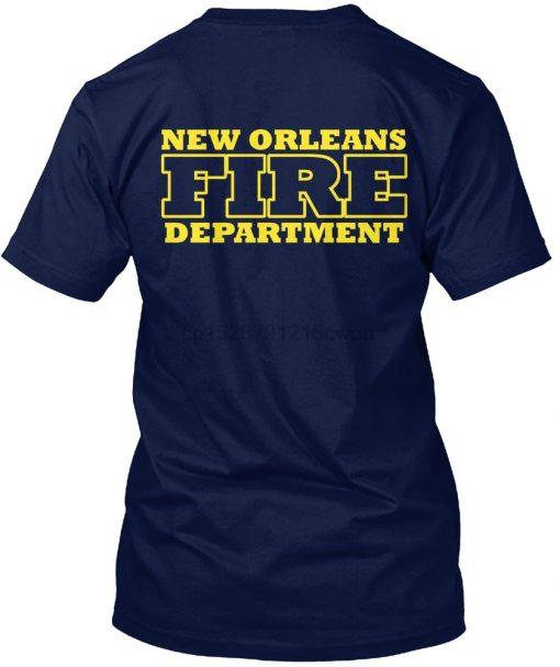 Men T Shirt New Orleans Fire Department station wear Women T Shirt