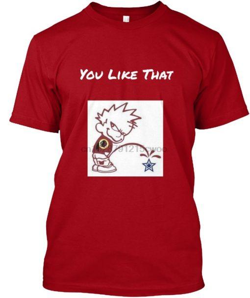 Men T Shirt Redskins Team pride Women T Shirt