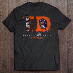 Men T Shirt T D Terrell Davis Broncos Denver Women t shirt