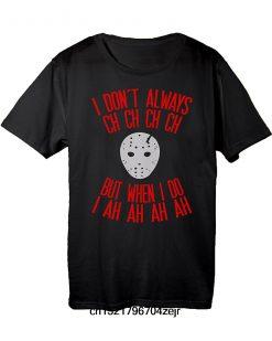 Men T shirt Friday 13th Jason Halloween Costume Fashion funny t shirt novelty tshirt women