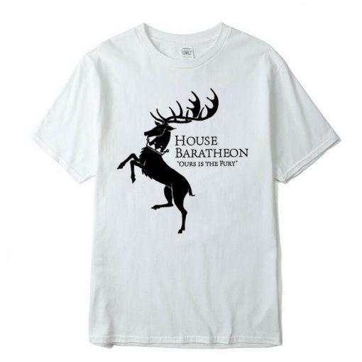 Men new Game of Thrones Men T Shirt100 cotton short Game of Thrones sleeve Men T 1