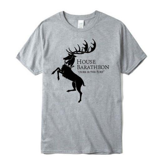 Men new Game of Thrones Men T Shirt100 cotton short Game of Thrones sleeve Men T 2