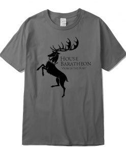 Men new Game of Thrones Men T Shirt100 cotton short Game of Thrones sleeve Men T 3